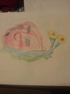 Jorja's 1st attempt at art (age 5)